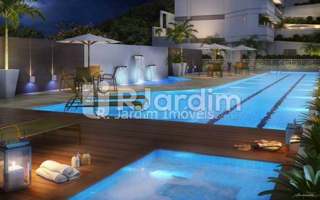 piscina.noturna.com.hidromassa - Apartamento 2 quartos à venda Botafogo, Zona Sul,Rio de Janeiro - R$ 1.085.600 - LAAP21192 - 10