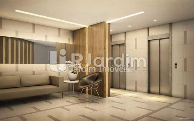 portaria - Apartamento 2 quartos à venda Botafogo, Zona Sul,Rio de Janeiro - R$ 1.085.600 - LAAP21192 - 5