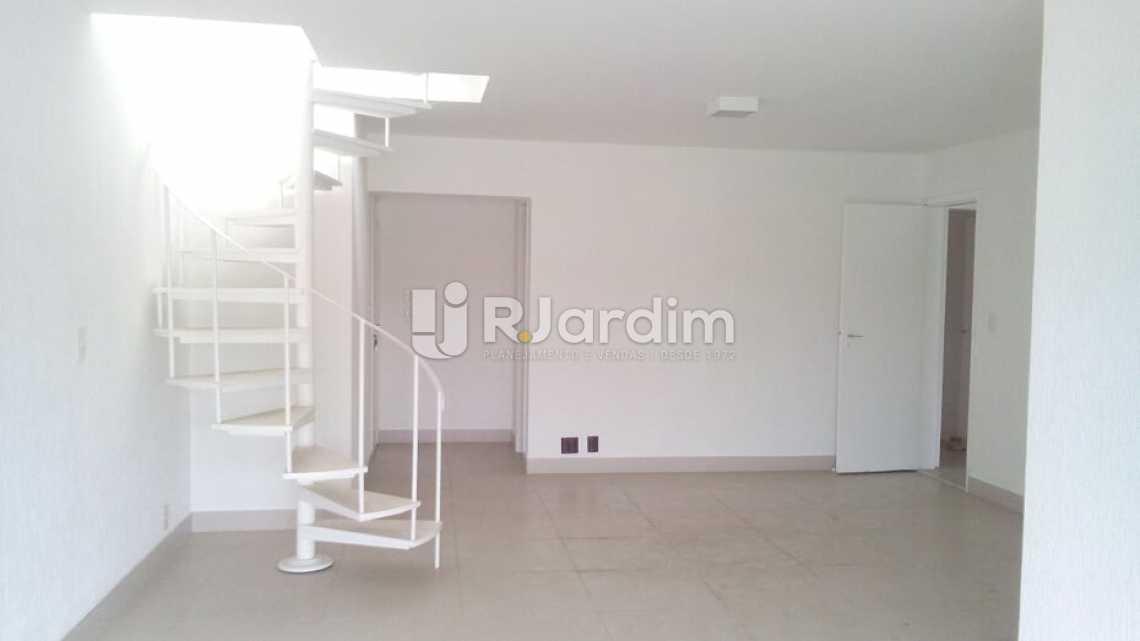 sala / entrada social  - Cobertura À VENDA, Barra da Tijuca, Rio de Janeiro, RJ - LACO40151 - 7