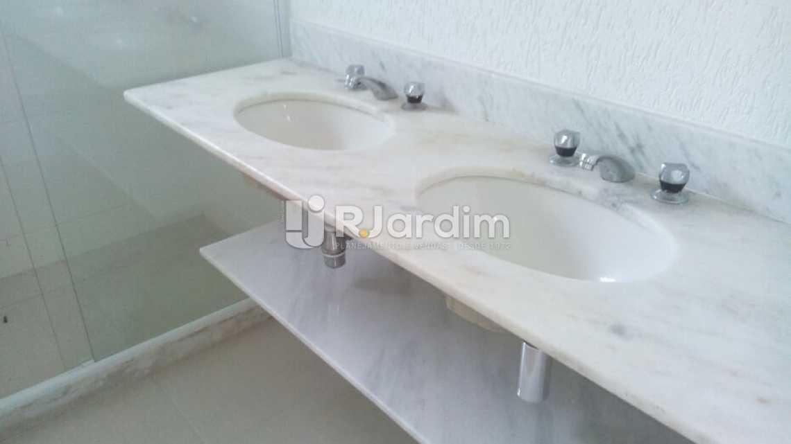banheiro  - Cobertura À VENDA, Barra da Tijuca, Rio de Janeiro, RJ - LACO40151 - 18
