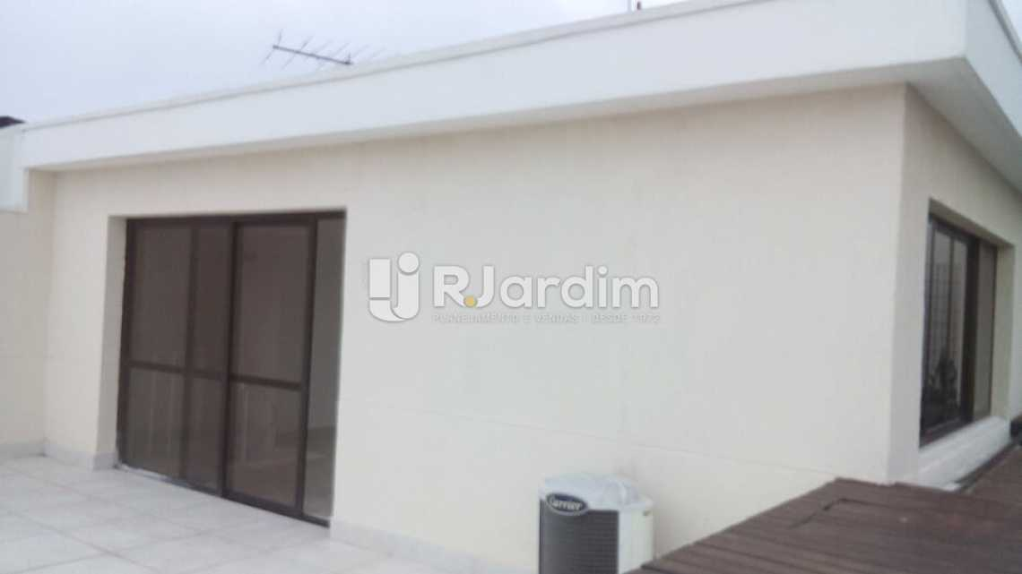 terraço - Cobertura À VENDA, Barra da Tijuca, Rio de Janeiro, RJ - LACO40151 - 28