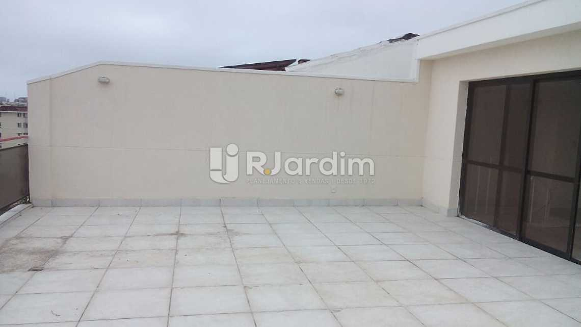 terraço  - Cobertura À VENDA, Barra da Tijuca, Rio de Janeiro, RJ - LACO40151 - 26