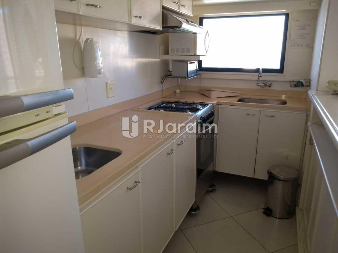 cozinha/ vista mar  - Compra Venda Avaliação Imóveis Aparthotel Ipanema Apartamento 2 Quartos - LAAP21196 - 18