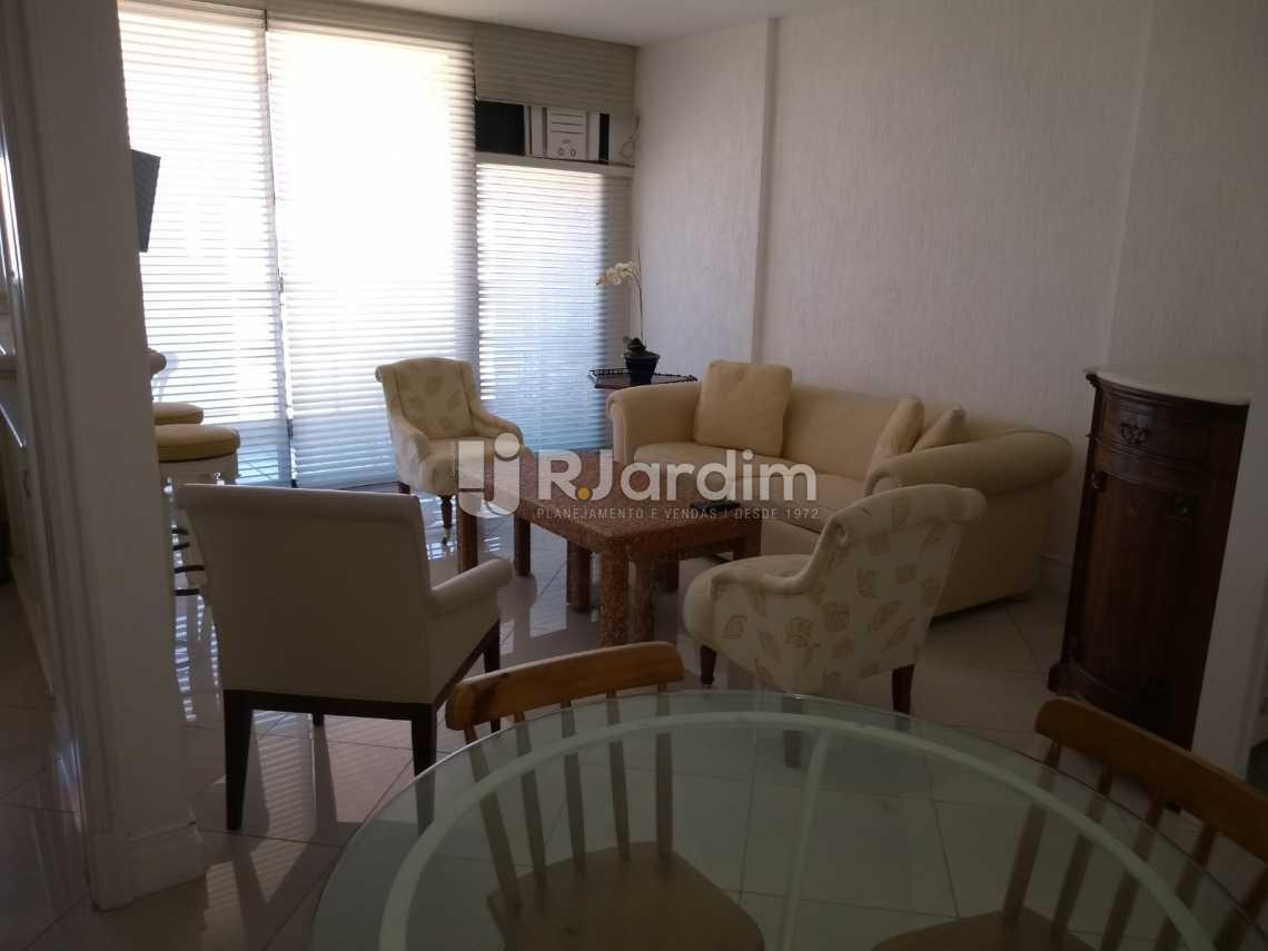 sala - Compra Venda Avaliação Imóveis Aparthotel Ipanema Apartamento 2 Quartos - LAAP21196 - 1
