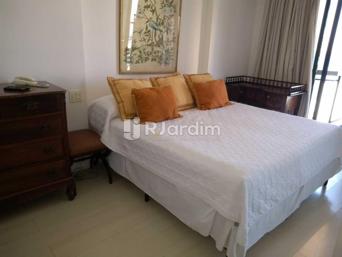 suíte  - Compra Venda Avaliação Imóveis Aparthotel Ipanema Apartamento 2 Quartos - LAAP21196 - 10