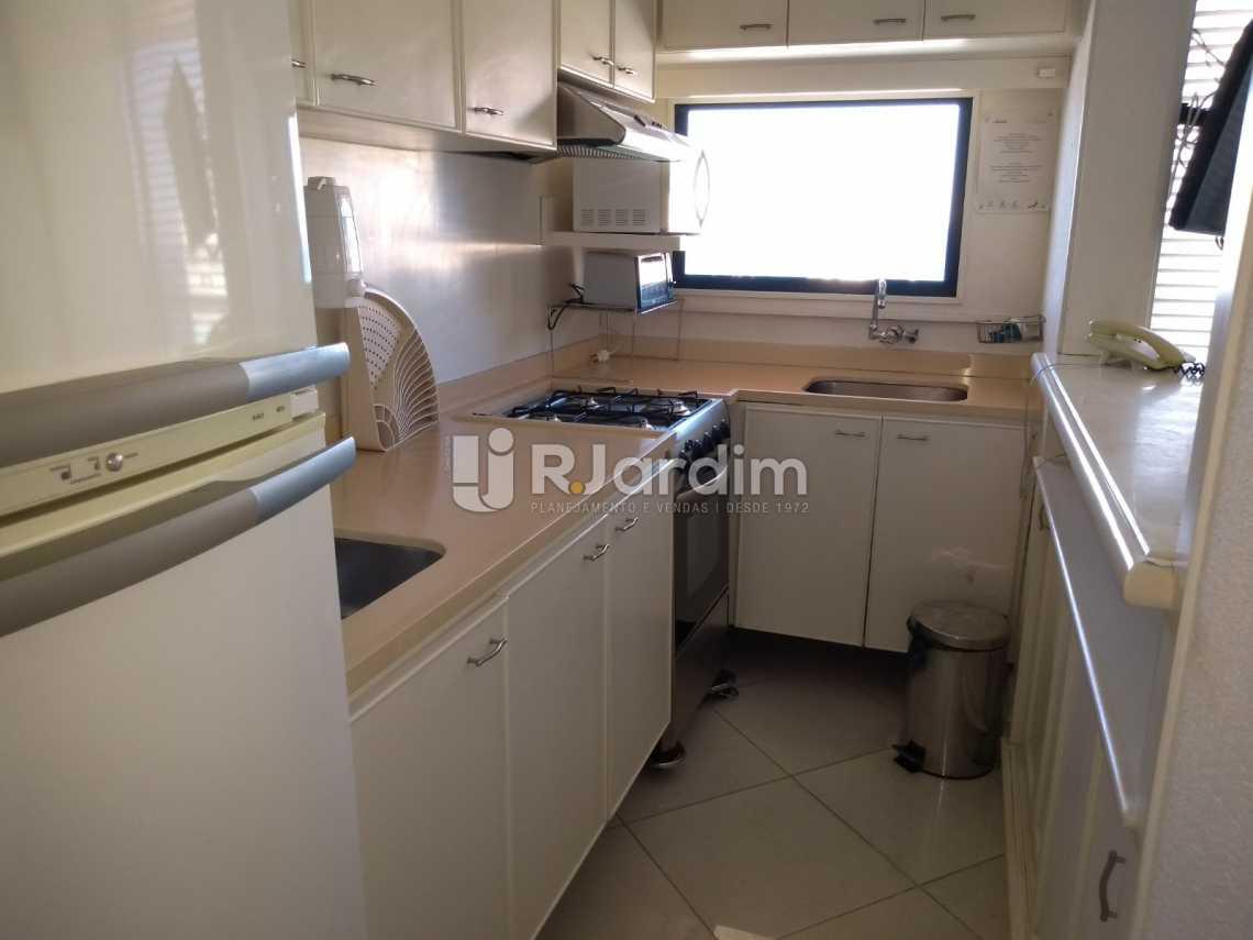 cozinha / vista mar  - Compra Venda Avaliação Imóveis Aparthotel Ipanema Apartamento 2 Quartos - LAAP21196 - 17