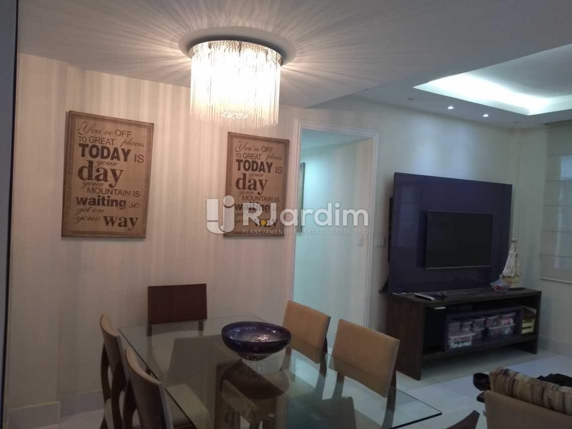 Sala jantar - Compra Venda Avaliação Imóveis Apartamento Copacabana 3 Quartos - LAAP31678 - 4