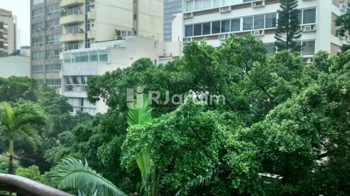 VISTA DA FRENTE - Imóveis Aluguel Flat Residencial Ipanema 2 Suítes - LAFL20070 - 4