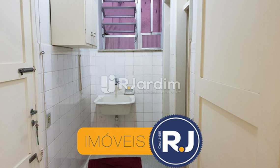 Área  - Apartamento À VENDA, Copacabana, Rio de Janeiro, RJ - LAAP21200 - 14