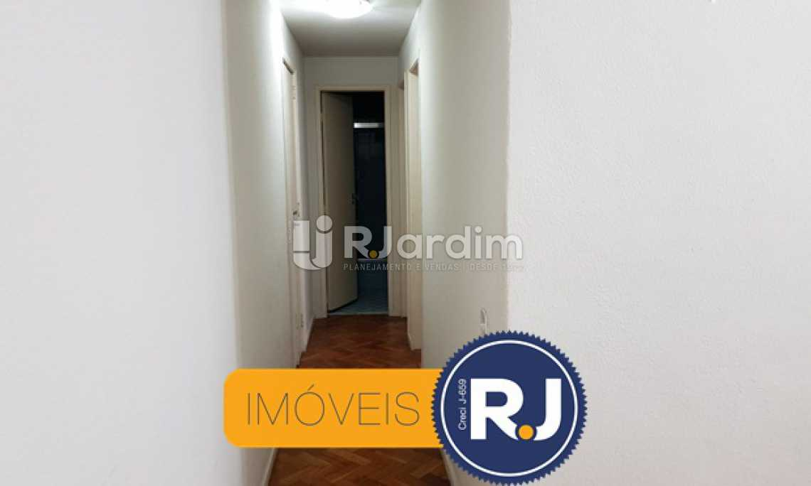 Corredor - Apartamento À VENDA, Copacabana, Rio de Janeiro, RJ - LAAP21200 - 4