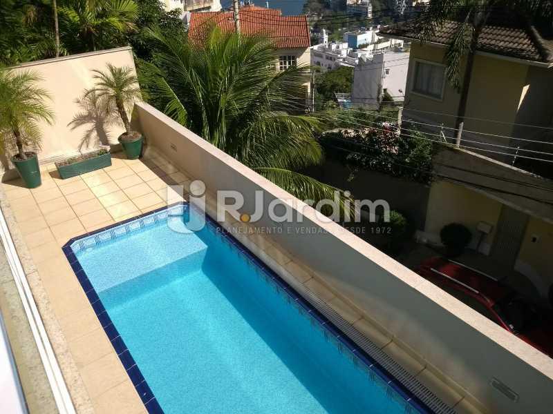 piscina / área comum  - Apartamento à venda Rua Casuarina,Lagoa, Zona Sul,Rio de Janeiro - R$ 2.500.000 - LAAP31685 - 22
