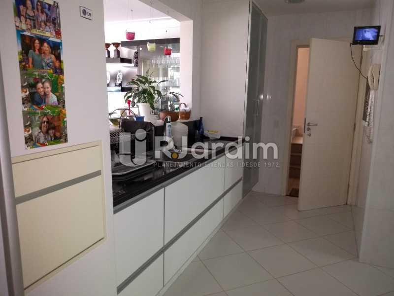 cozinha  - Apartamento à venda Rua Casuarina,Lagoa, Zona Sul,Rio de Janeiro - R$ 2.500.000 - LAAP31685 - 18