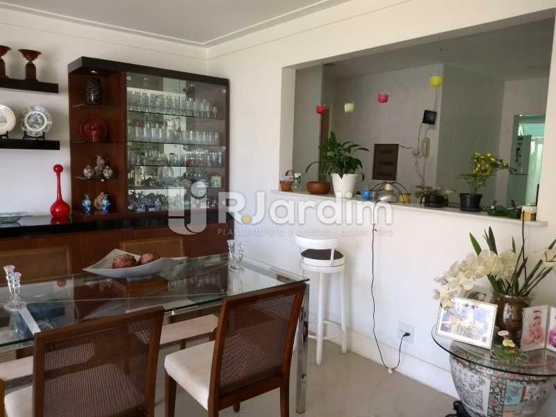 sala / cozinha americana  - Apartamento à venda Rua Casuarina,Lagoa, Zona Sul,Rio de Janeiro - R$ 2.500.000 - LAAP31685 - 6
