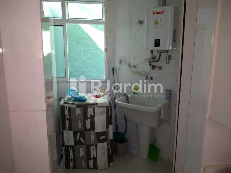 área de serviço  - Apartamento à venda Rua Casuarina,Lagoa, Zona Sul,Rio de Janeiro - R$ 2.500.000 - LAAP31685 - 25