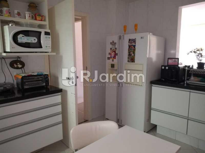 cozinha  - Apartamento à venda Rua Casuarina,Lagoa, Zona Sul,Rio de Janeiro - R$ 2.500.000 - LAAP31685 - 20