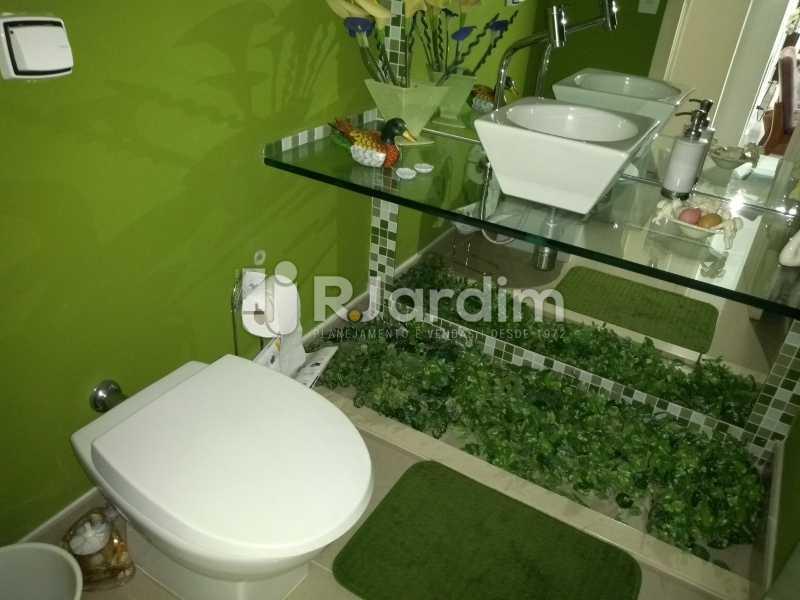 banheiro  - Apartamento à venda Rua Casuarina,Lagoa, Zona Sul,Rio de Janeiro - R$ 2.500.000 - LAAP31685 - 15