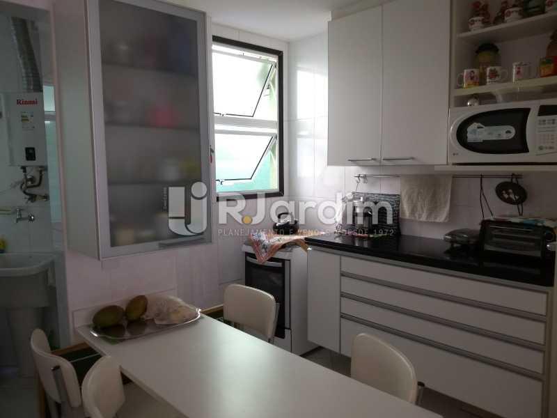 cozinha  - Apartamento à venda Rua Casuarina,Lagoa, Zona Sul,Rio de Janeiro - R$ 2.500.000 - LAAP31685 - 19