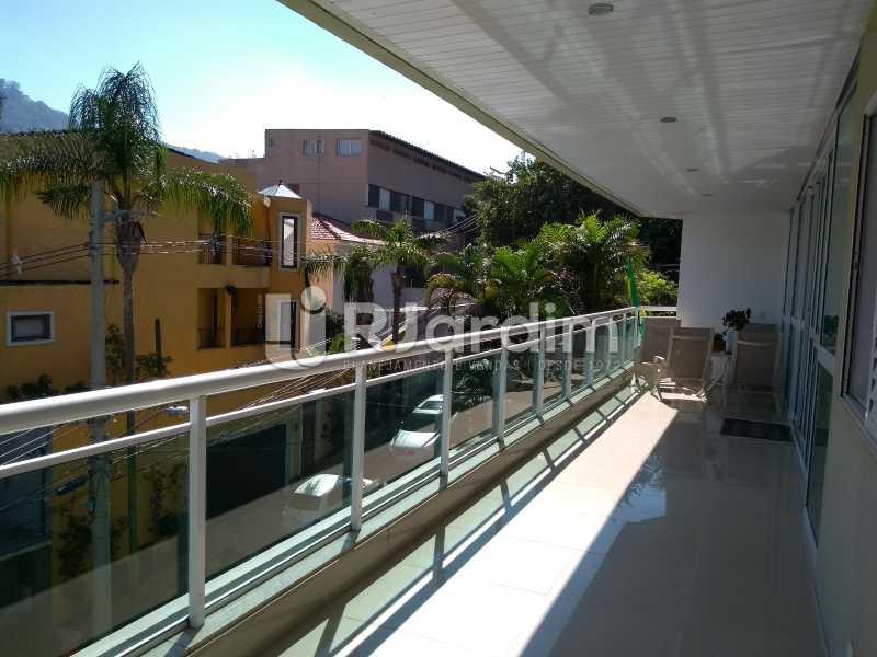 varanda  - Apartamento à venda Rua Casuarina,Lagoa, Zona Sul,Rio de Janeiro - R$ 2.500.000 - LAAP31685 - 4