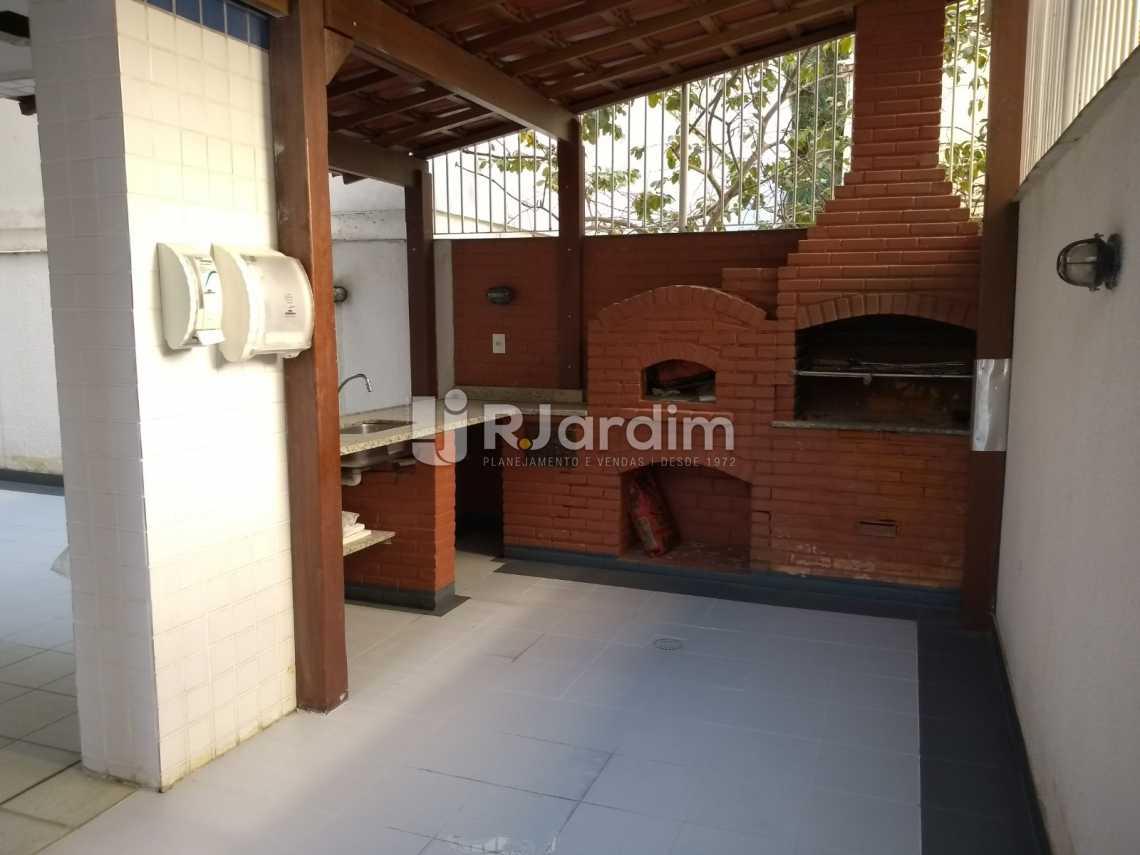 área gourmet / prédio  - Cobertura À VENDA, Lagoa, Rio de Janeiro, RJ - LACO30235 - 27