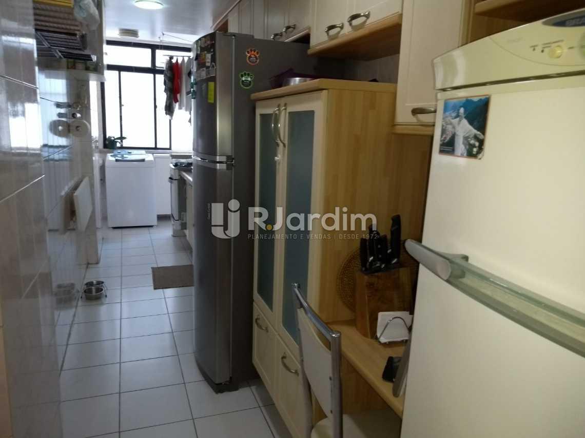 cozinha  - Cobertura À VENDA, Lagoa, Rio de Janeiro, RJ - LACO30235 - 26