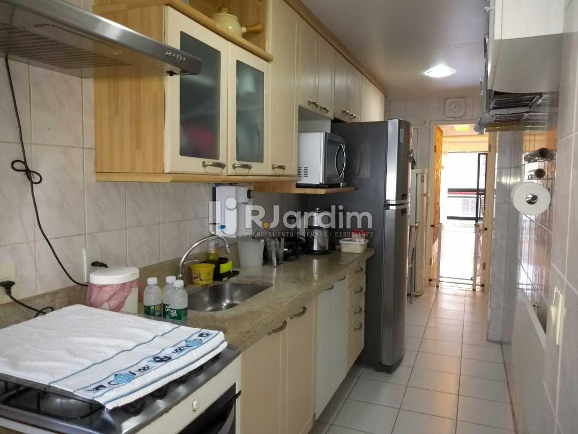 cozinha  - Cobertura À VENDA, Lagoa, Rio de Janeiro, RJ - LACO30235 - 25