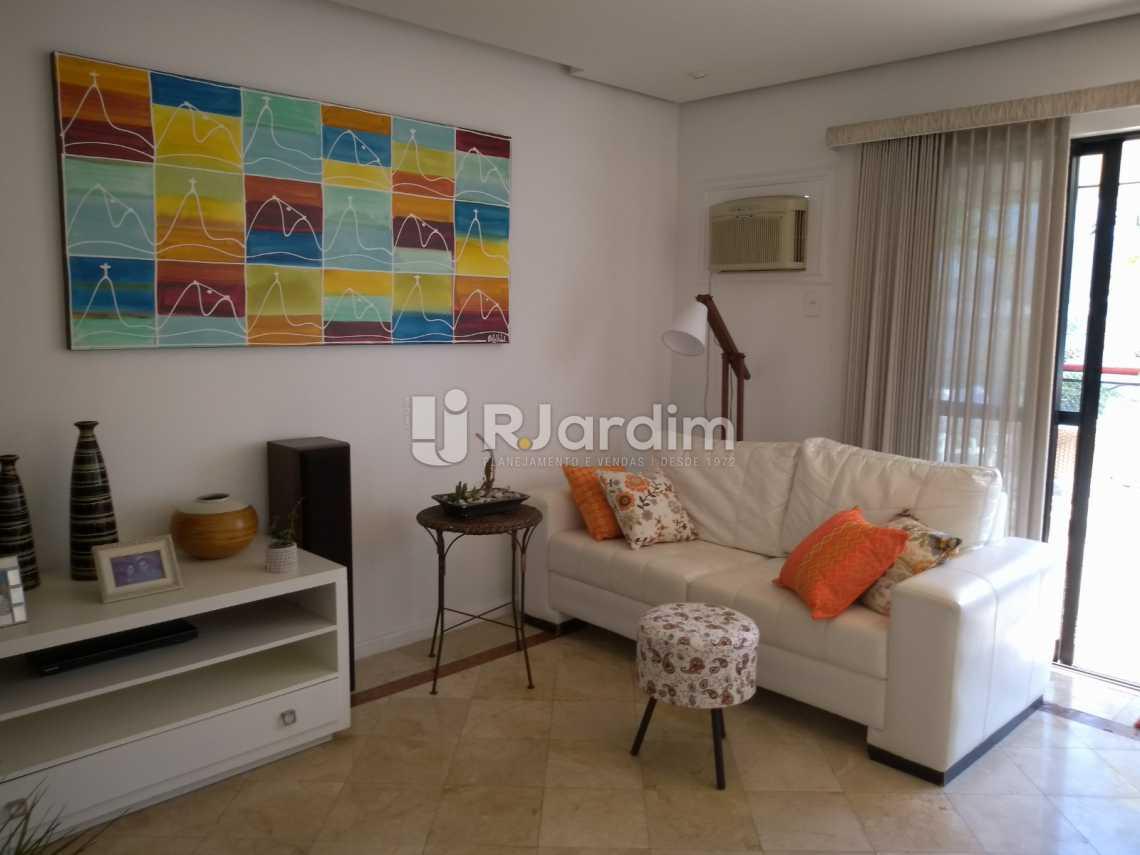 sala - Cobertura À VENDA, Lagoa, Rio de Janeiro, RJ - LACO30235 - 12