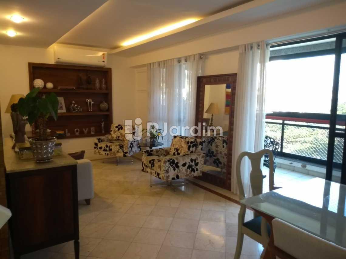 sala/varanda  - Cobertura À VENDA, Lagoa, Rio de Janeiro, RJ - LACO30235 - 14