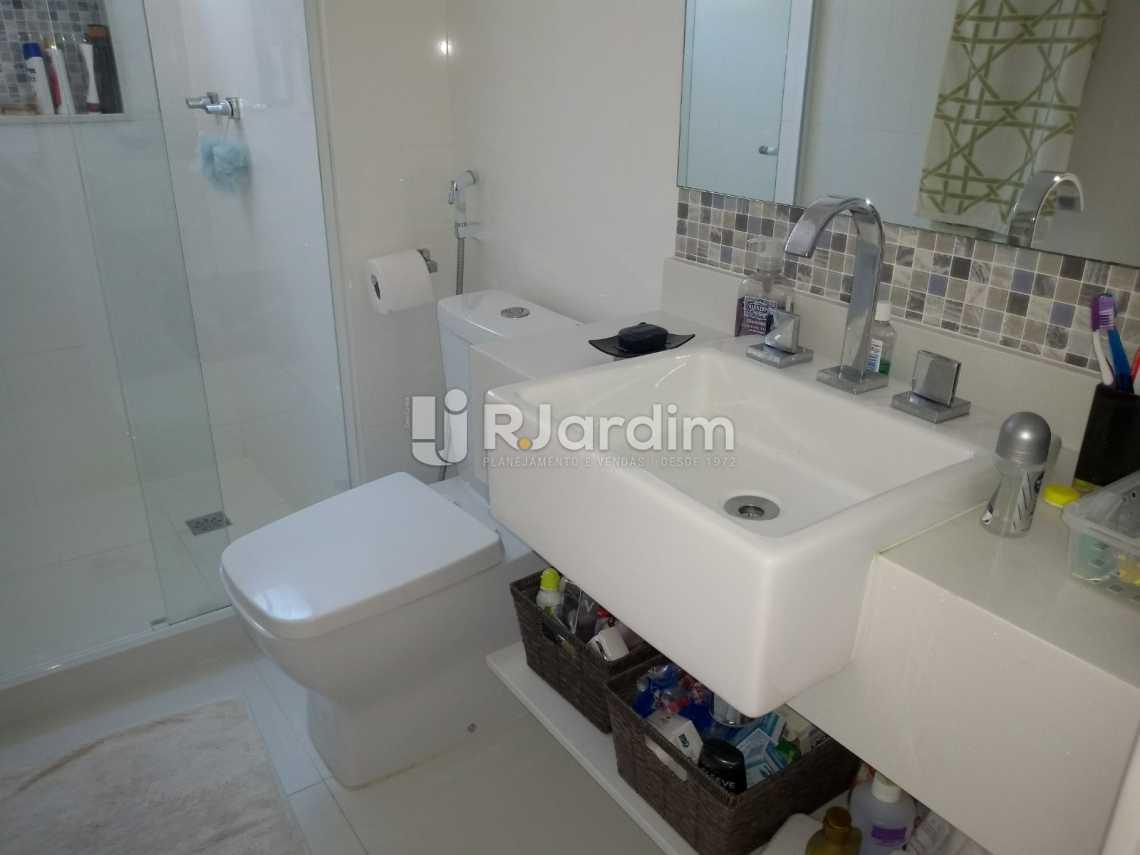 banheiro  - Cobertura À VENDA, Lagoa, Rio de Janeiro, RJ - LACO30235 - 23
