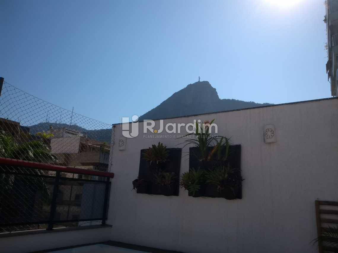terraço/vista Cristo - Cobertura À VENDA, Lagoa, Rio de Janeiro, RJ - LACO30235 - 6