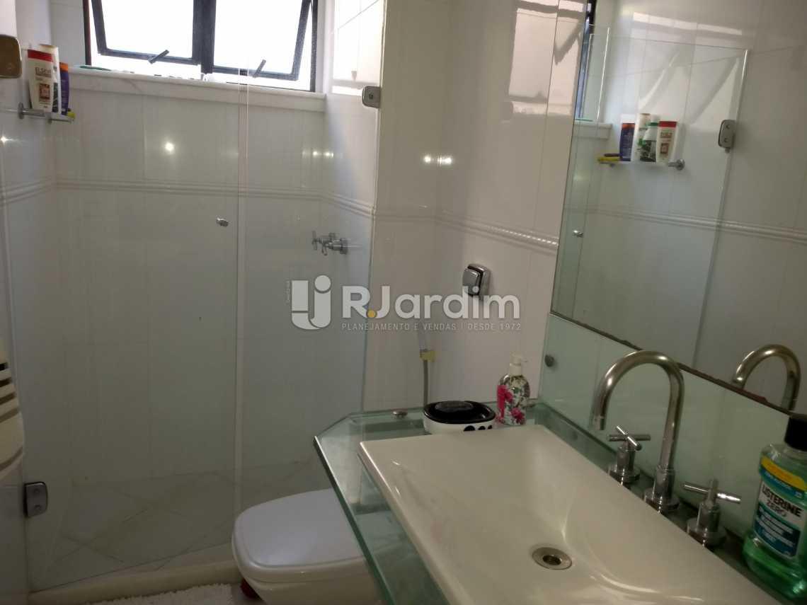 banheiro / suíte  - Cobertura À VENDA, Lagoa, Rio de Janeiro, RJ - LACO30235 - 19