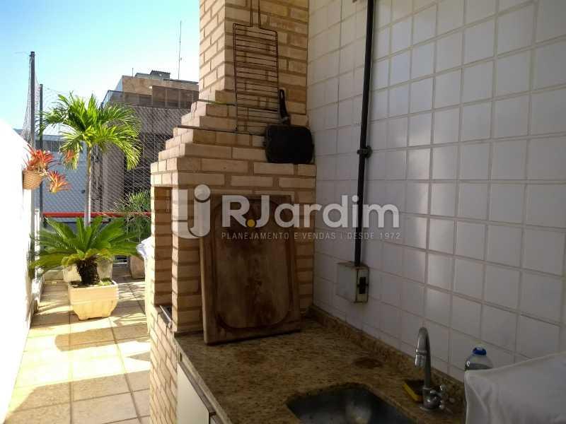 área gourmet  - Cobertura À VENDA, Lagoa, Rio de Janeiro, RJ - LACO30235 - 8