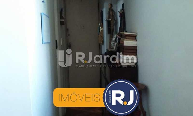 Corredor - Apartamento Padrão Copacabana 2 Quartos Compra Venda Avaliação Imóveis - LAAP21208 - 5