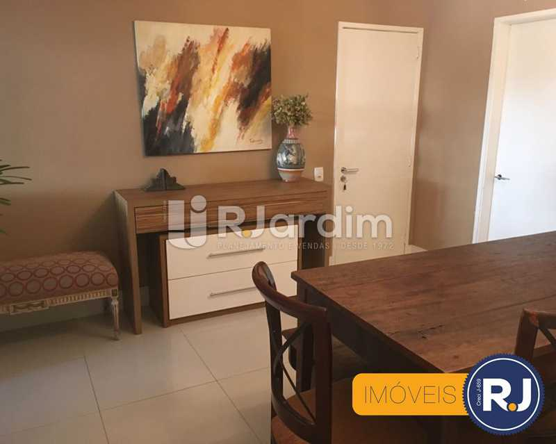 05 sala jantar - Compra Venda Avaliação Imóveis Apartamento Laranjeiras 3 Quartos - LAAP31705 - 6