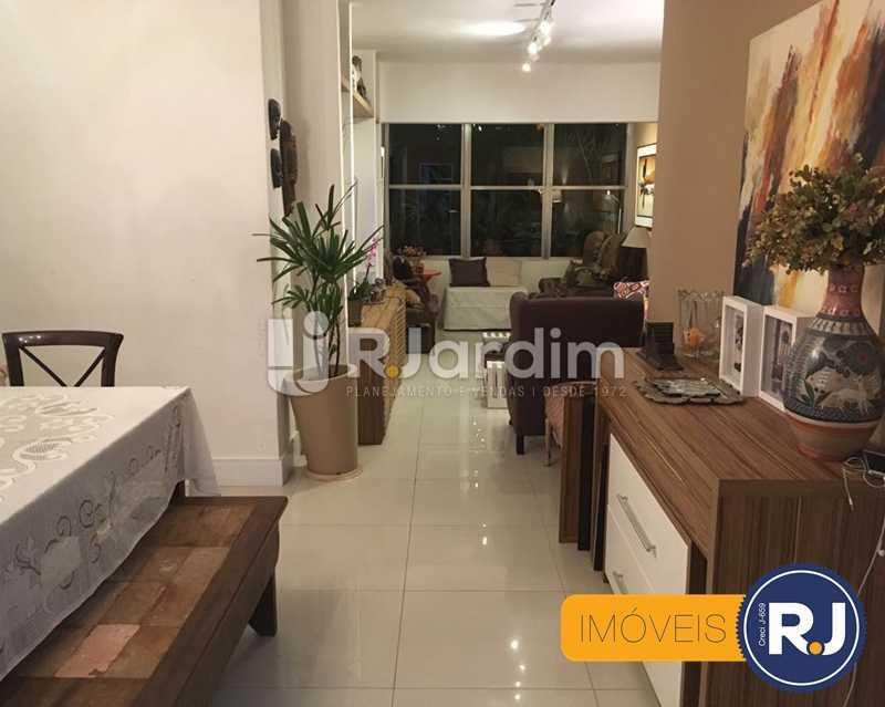 08 sala visao geral - Compra Venda Avaliação Imóveis Apartamento Laranjeiras 3 Quartos - LAAP31705 - 9