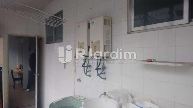 Área de serviço - Apartamento À VENDA, Alto Leblon, Leblon, Rio de Janeiro, RJ - LAAP40664 - 16