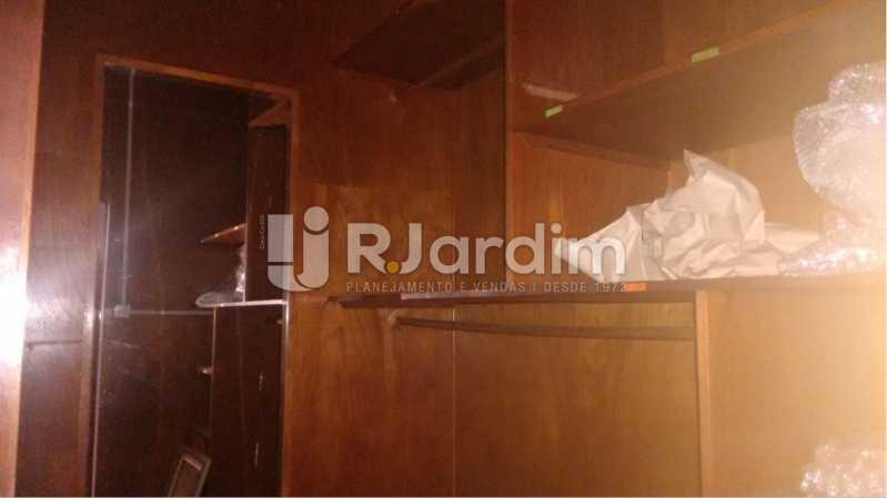 Armários madeira maciça - Apartamento À VENDA, Alto Leblon, Leblon, Rio de Janeiro, RJ - LAAP40664 - 20