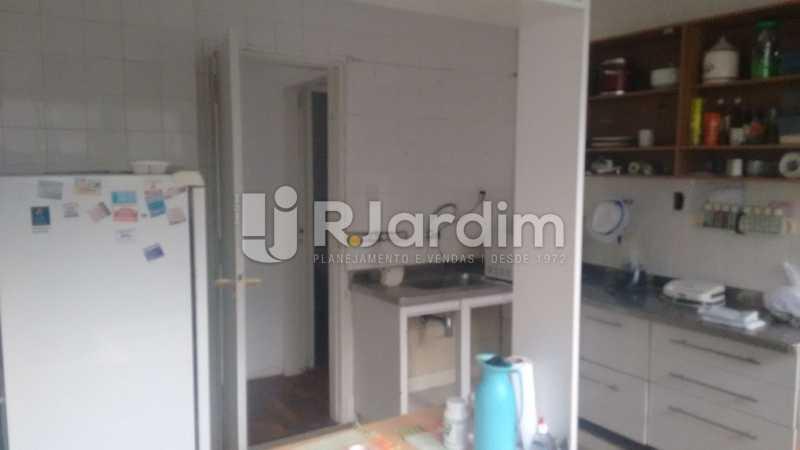 Cozinha - Apartamento À VENDA, Alto Leblon, Leblon, Rio de Janeiro, RJ - LAAP40664 - 14