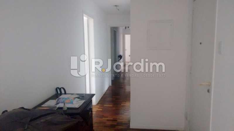 Hall de entrada - Apartamento À VENDA, Alto Leblon, Leblon, Rio de Janeiro, RJ - LAAP40664 - 11