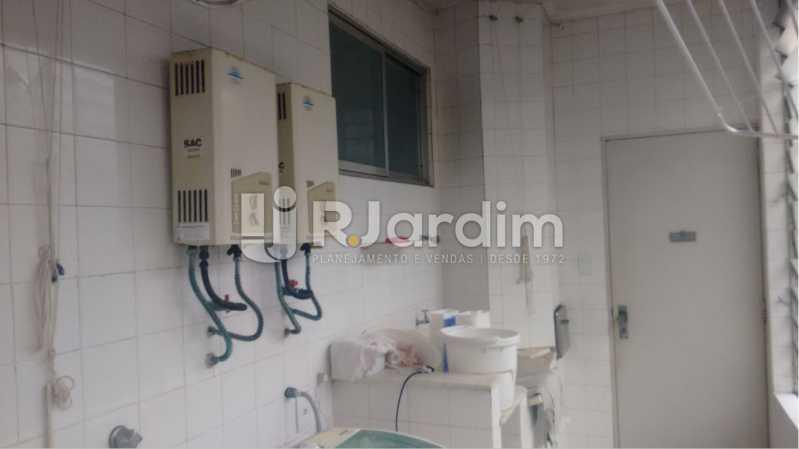 Porta de serviço - Apartamento À VENDA, Alto Leblon, Leblon, Rio de Janeiro, RJ - LAAP40664 - 17