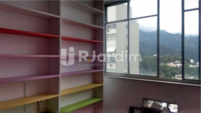 Quarto - Apartamento À VENDA, Alto Leblon, Leblon, Rio de Janeiro, RJ - LAAP40664 - 10