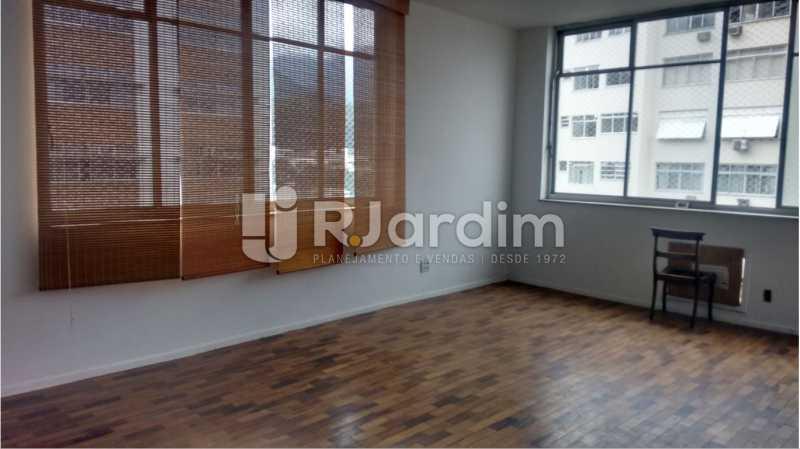 Sala de estar 2 - Apartamento À VENDA, Alto Leblon, Leblon, Rio de Janeiro, RJ - LAAP40664 - 7