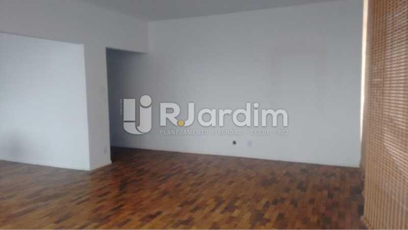 Sala de estar - Apartamento À VENDA, Alto Leblon, Leblon, Rio de Janeiro, RJ - LAAP40664 - 8