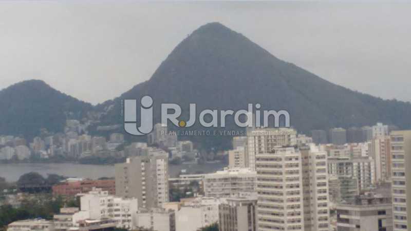 Vista Lagoa - Apartamento À VENDA, Alto Leblon, Leblon, Rio de Janeiro, RJ - LAAP40664 - 4