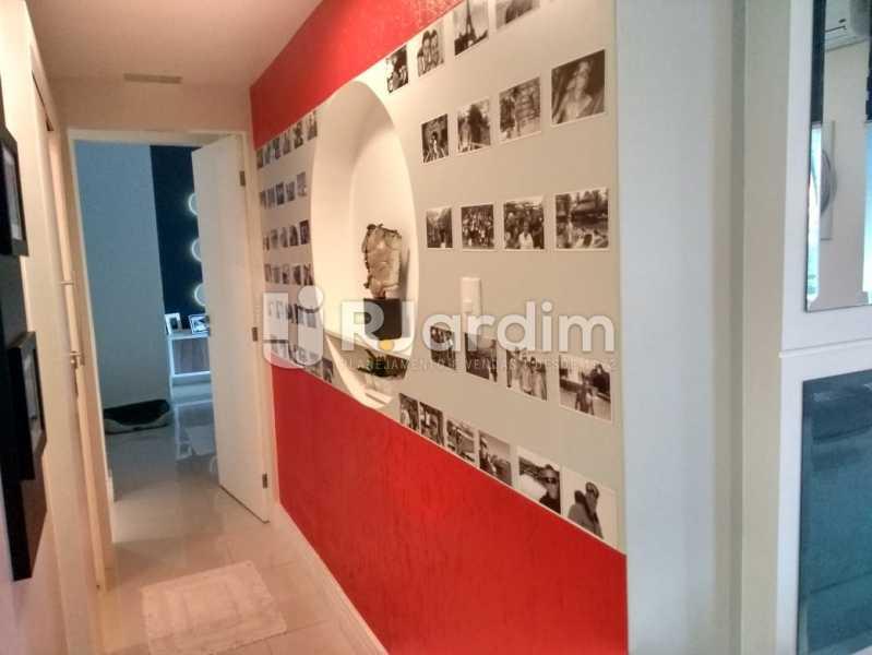 corredor - Apartamento à venda Rua Nascimento Silva,Ipanema, Zona Sul,Rio de Janeiro - R$ 1.550.000 - LAAP31730 - 19