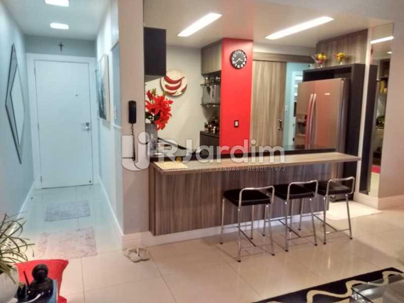 cozinha americana entrada - Apartamento à venda Rua Nascimento Silva,Ipanema, Zona Sul,Rio de Janeiro - R$ 1.550.000 - LAAP31730 - 5