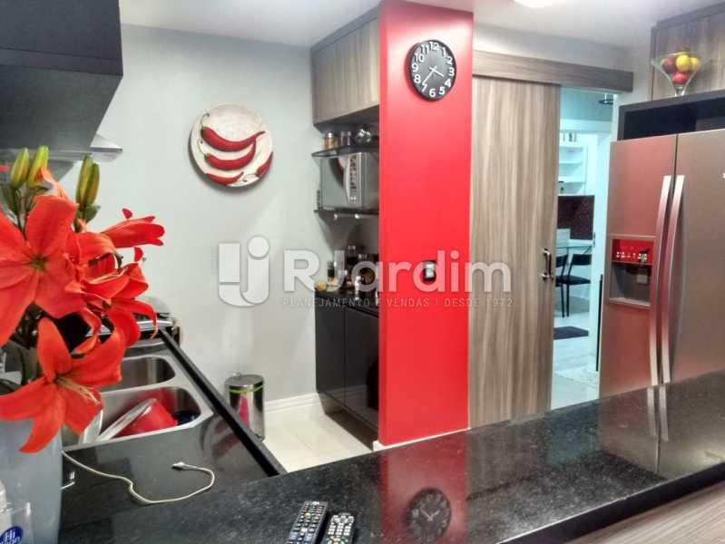 cozinha  - Apartamento à venda Rua Nascimento Silva,Ipanema, Zona Sul,Rio de Janeiro - R$ 1.550.000 - LAAP31730 - 16
