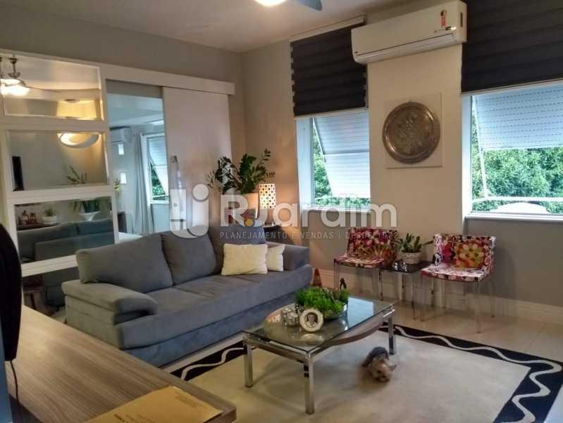 sala estar - Apartamento à venda Rua Nascimento Silva,Ipanema, Zona Sul,Rio de Janeiro - R$ 1.550.000 - LAAP31730 - 1