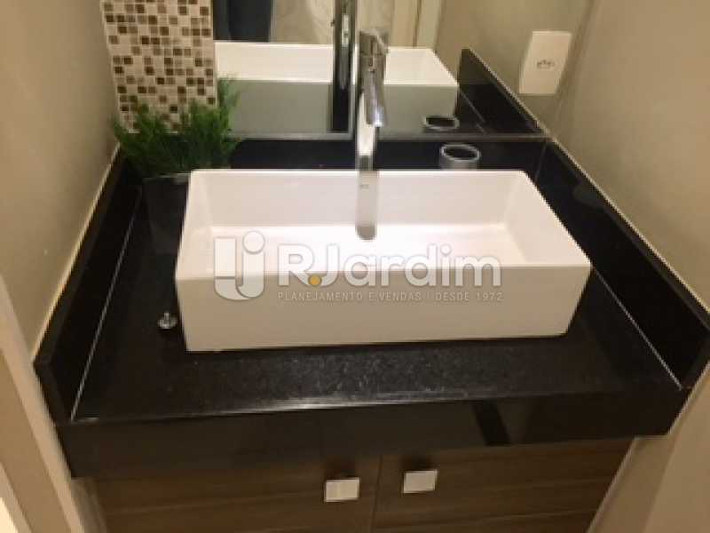detalhe do lavabo - Apartamento À VENDA, Ipanema, Rio de Janeiro, RJ - LAAP31731 - 13
