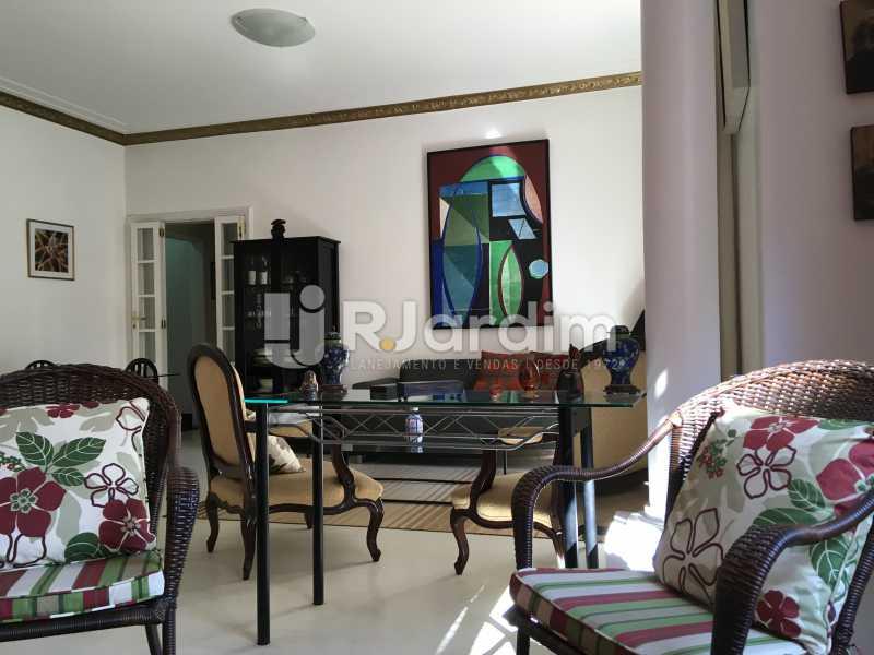 sala.estar.jantar.lateral - Apartamento Flamengo, Zona Sul,Rio de Janeiro, RJ À Venda, 3 Quartos, 127m² - LAAP31739 - 1