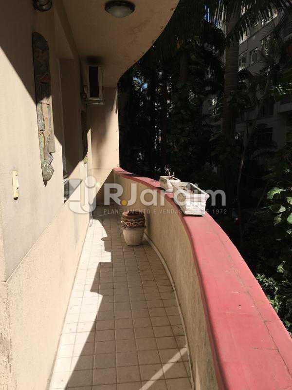 varanda - Apartamento 3 quartos à venda Flamengo, Zona Sul,Rio de Janeiro - R$ 1.100.000 - LAAP31739 - 12